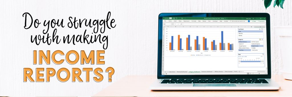 Traffic  Income Tracker For Bloggers - The Millennial Bull