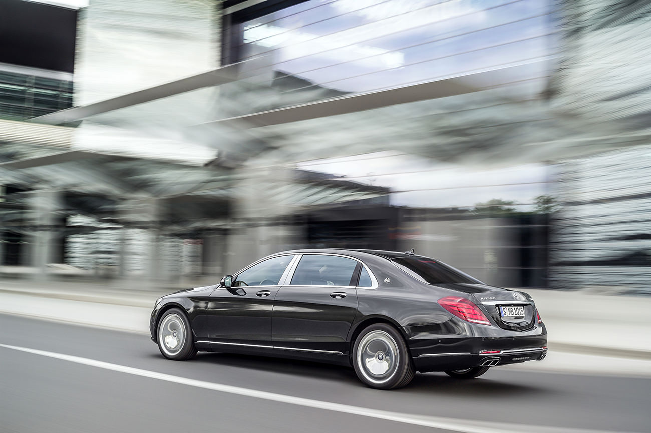Mercedes Maybach The Mercedes Maybach S Class The Perfection