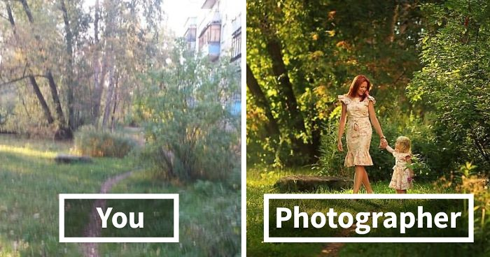 Ordinary People VS. Photographers: Experiment Shows How Differently Same Location Looks