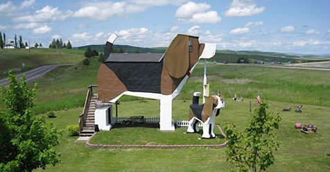 For $100 a Night, You Can Stay in a Bed and Breakfast Shaped Like a Beagle