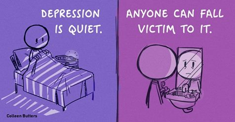 These Comics Perfectly Capture What Dealing With Depression Is Like