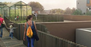 Belgian supermarket unveils plan to sell food grown on their own rooftop garden