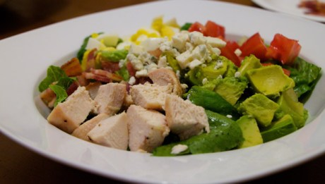 Cobb Salad with Homemade Dressing