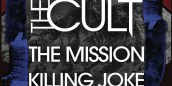 UK Venues – Update (w/ The Cult & Killing Joke)