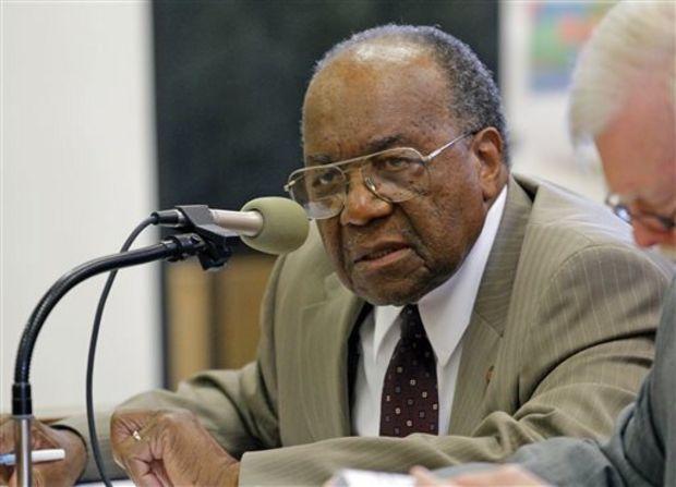 Senate Rules Committee member David Jordan, D-Greenwood (AP Photo/Rogelio V. Solis, File)