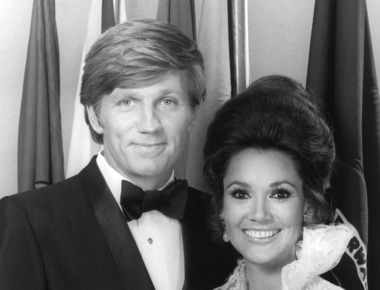 Mary Ann Mobley and Gary Collins in 1971. Courtesy Everett Collection