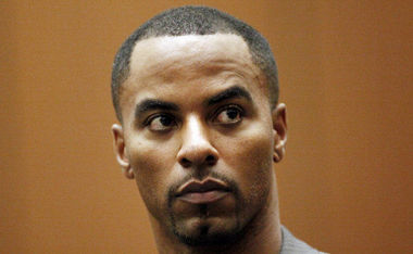 Former Saints safety Darren Sharper, shown here from a Los Angeles court appearance in February 2014, was indicted on rape charges in New Orleans last month. A federal judge on Monday, Jan. 12, 2015, ordered that Sharper be brought to Louisiana from California. (Bob Chamberlin, Associated Press)