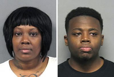 Jamise Butler (left) and her son, Anthony Walker, of Jackson, Miss., are accused of laundering money through two Louisiana Walmarts. (NOLA.com)