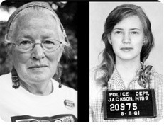 Joan Mulholland was arrested at age 19, in 1961 for civil rights work in Jackson.