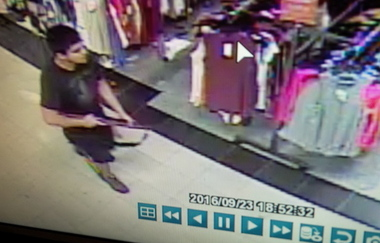 Washington State Patrol on Saturday, Sept. 24, 2016, released surveillance camera images of the suspect in the Cascade Mall shooting in Burlington. He fired multiple rounds, mortally wounding five people, before escaping. The weapon has been recovered.