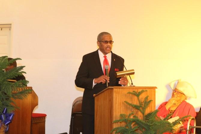 Deacon Freddie Davis of Mt. Nebo Baptist Church