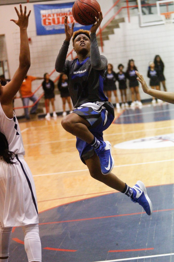 Nya Irvin of Murrah Lady Mustangs