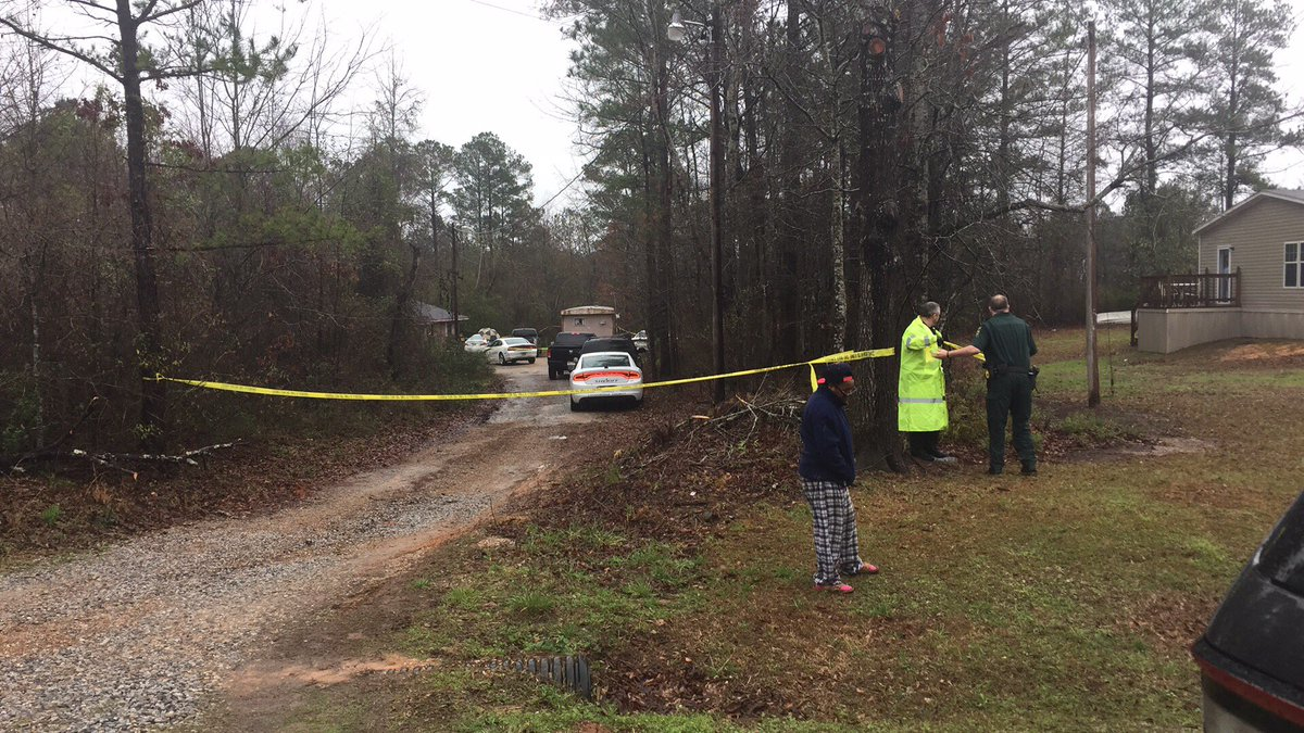 Four found shot to death inside this house on Butts Road, Toomsuba Mississippi.