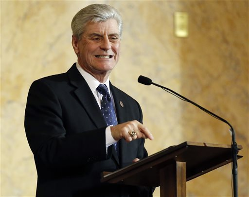 Mississippi Gov. Phil Bryant has ordered $43 million in cuts from the state budget, marking the fifth time in the past 14 months he has enacted such cuts. AP file photo