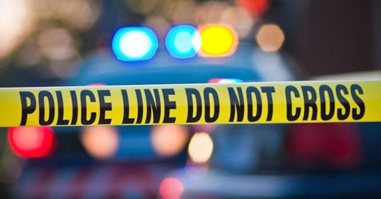 police tape shooting