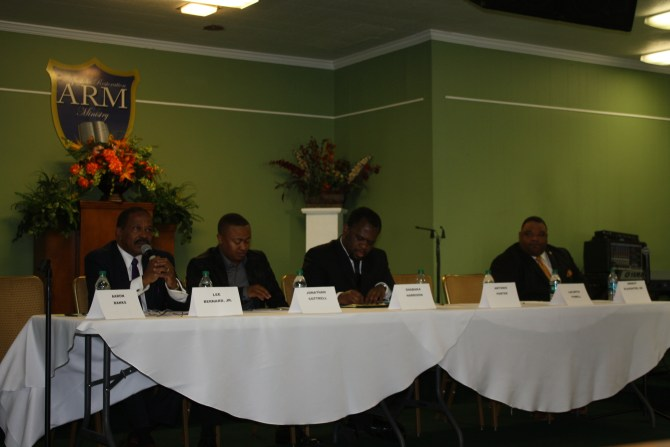 Ward 6 Council candidates engage in forum.
