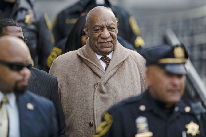 In this Dec. 13, 2016, file photo, Bill Cosby departs after a pretrial hearing in his sexual assault case at the Montgomery County Courthouse in Norristown, Pa. A crucial phase of Cosby's sex assault trial starts Monday, May 22, 2017, when lawyers gather in Pittsburgh to pick the jury that will decide if the actor drugged and molested Andrea Constand, a Temple University women's basketball team manager, at his home near Philadelphia in 2004. (AP Photo/Matt Rourke, File)