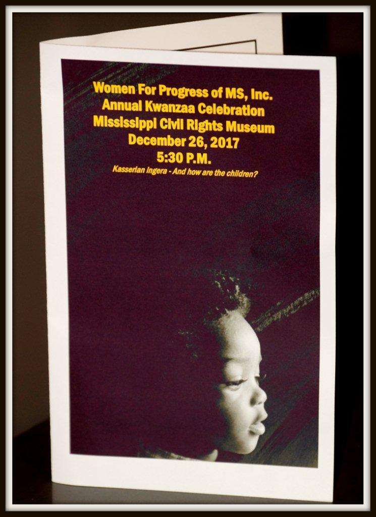 Women for Progress of MS, Inc.  Annual Kwanzaa Celebration