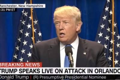Trump Speech In Orlando