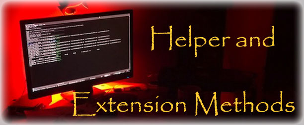 Helper and Extension Methods Stand