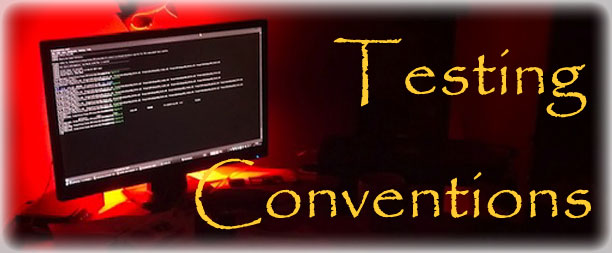 Testing Conventions Standards
