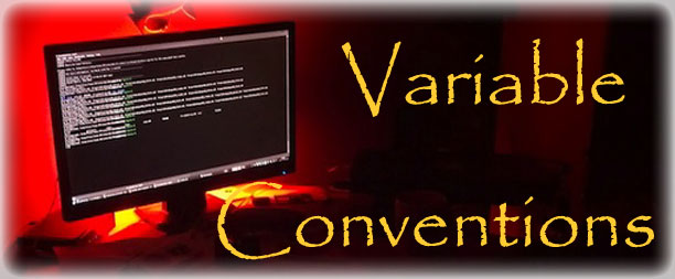 Variable Conventions Standard
