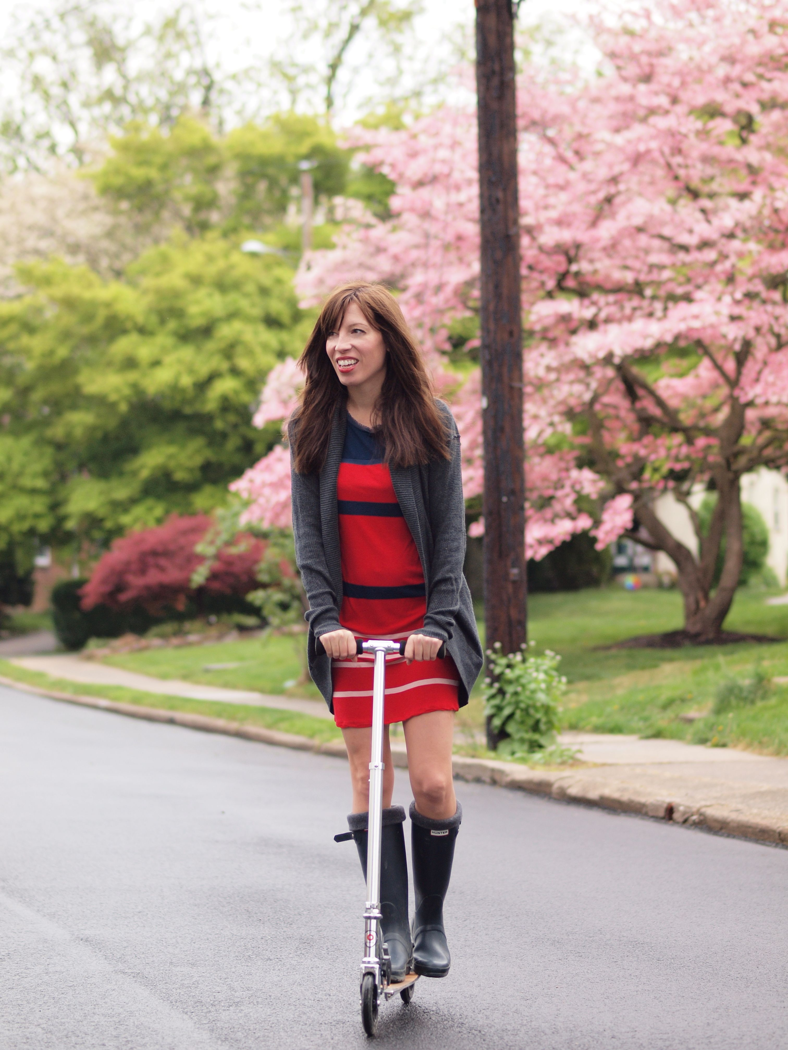 Wearing Rainboots Inspiration Through The Seasons And
