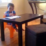 Step Into My Office: Toddler Parsons Desk