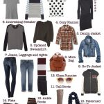 Fall Basics 101:  A Starter Mom-Drobe