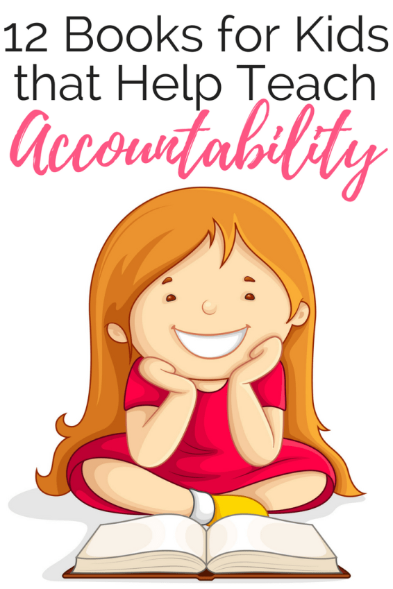 Reading books about accountability and responsibility to kids is a great way to supplement some of those difficult conversations about challenging concepts.