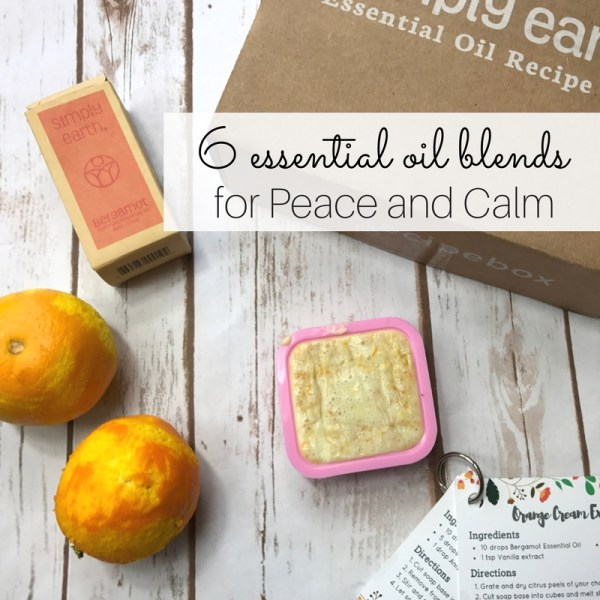 Here is a list of 6 essential oil blends for peace and calm. These blends work quickly to invoke feelings of peaceful relaxation while clearing your mind.