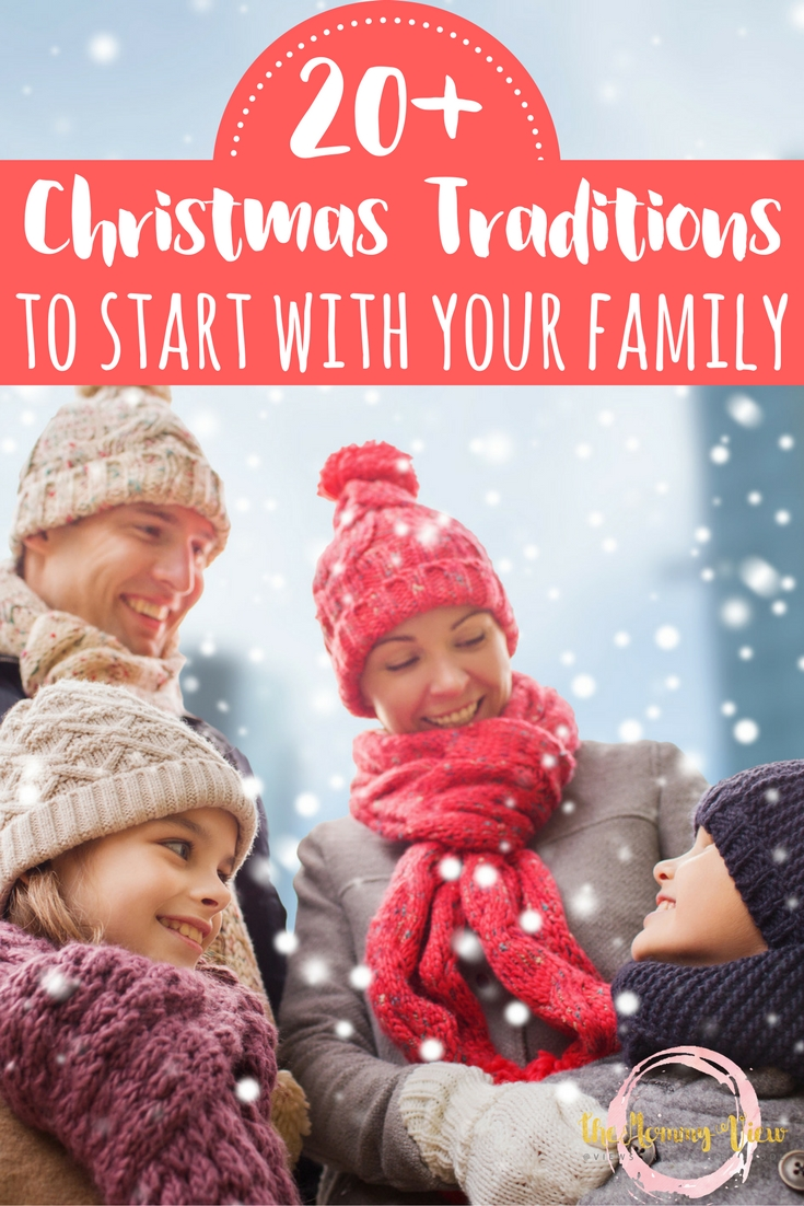 Christmas traditions to start with your family today. From gifts to give to ways to celebrate the holiday, ideas for connection and celebration.