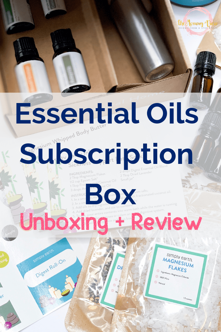 essential oils unboxing pin 1