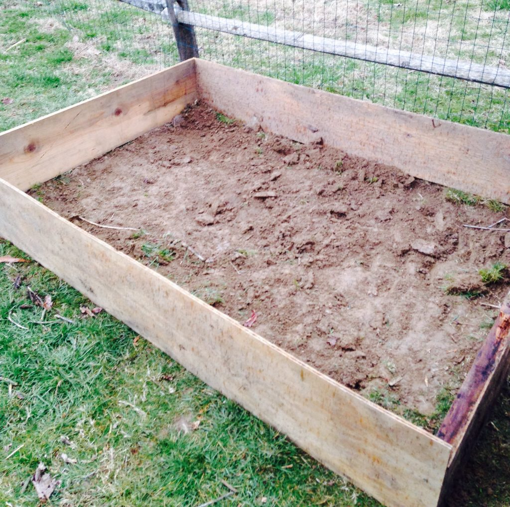 Instructions For Making Raised Garden Beds Easy Steps To Building A Raised Garden Bed The Mom Of