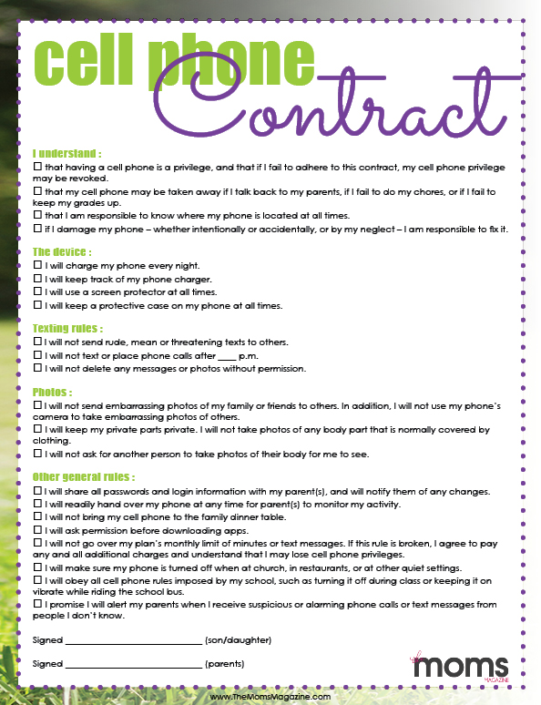 Printable Contracts - Fiveoutsiders