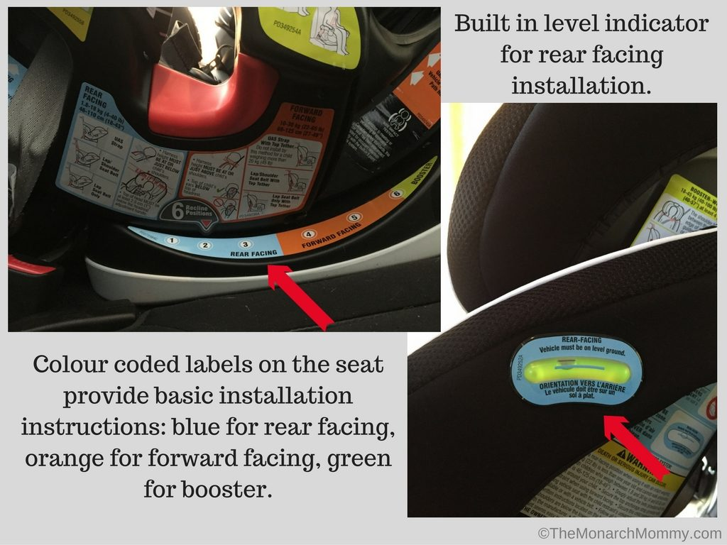 Graco Infant Car Seat Stroller Instructions Graco 4ever 4 In 1 Car Seat Review Themonarchmommy
