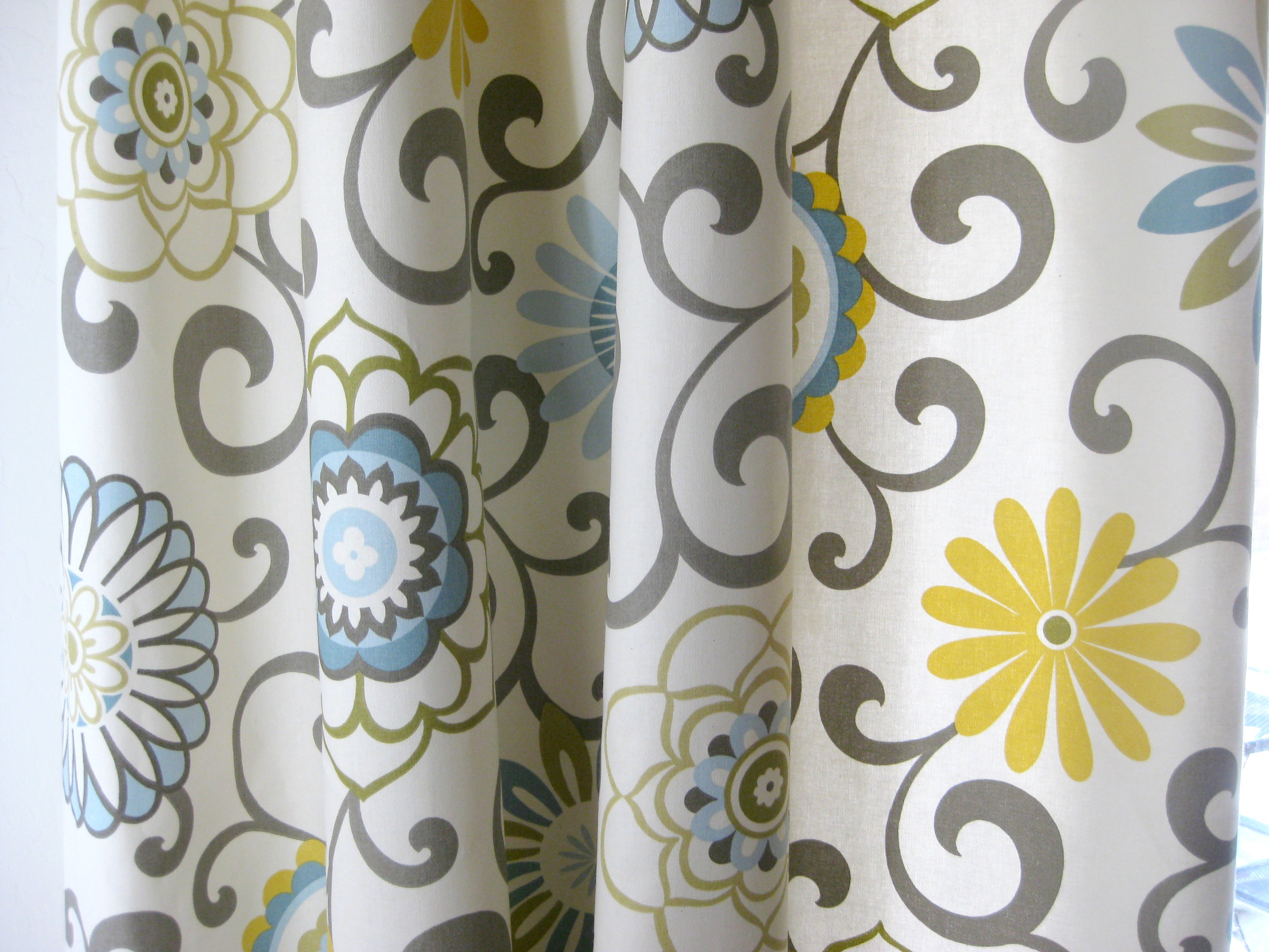 Ikea Vorhänge Majgull Grey And Yellow Patterned Curtains Best Home Decorating Ideas