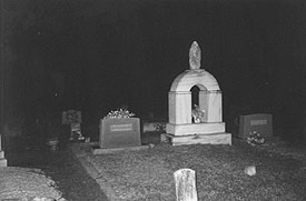 New Hope Cemetery Night