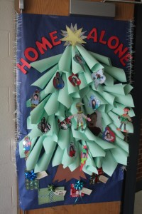 Door Tree Decoration & Christmas Classroom Door