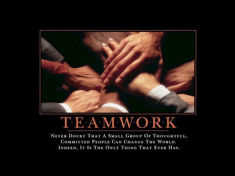 teamwork and motivation