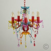 12 Best Collection of Colourful Chandeliers
