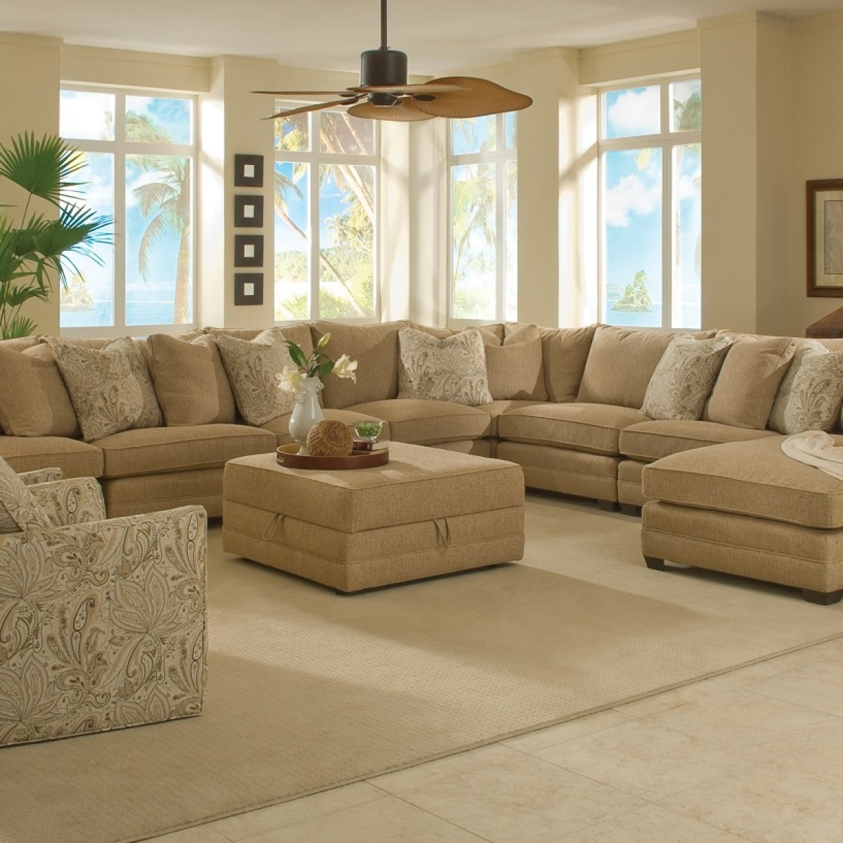 Big Sofa In A Small Room 12 Photo Of Extra Large Sectional Sofas