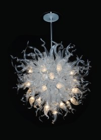 contemporary glass chandelier - 28 images - modern pyramid ...