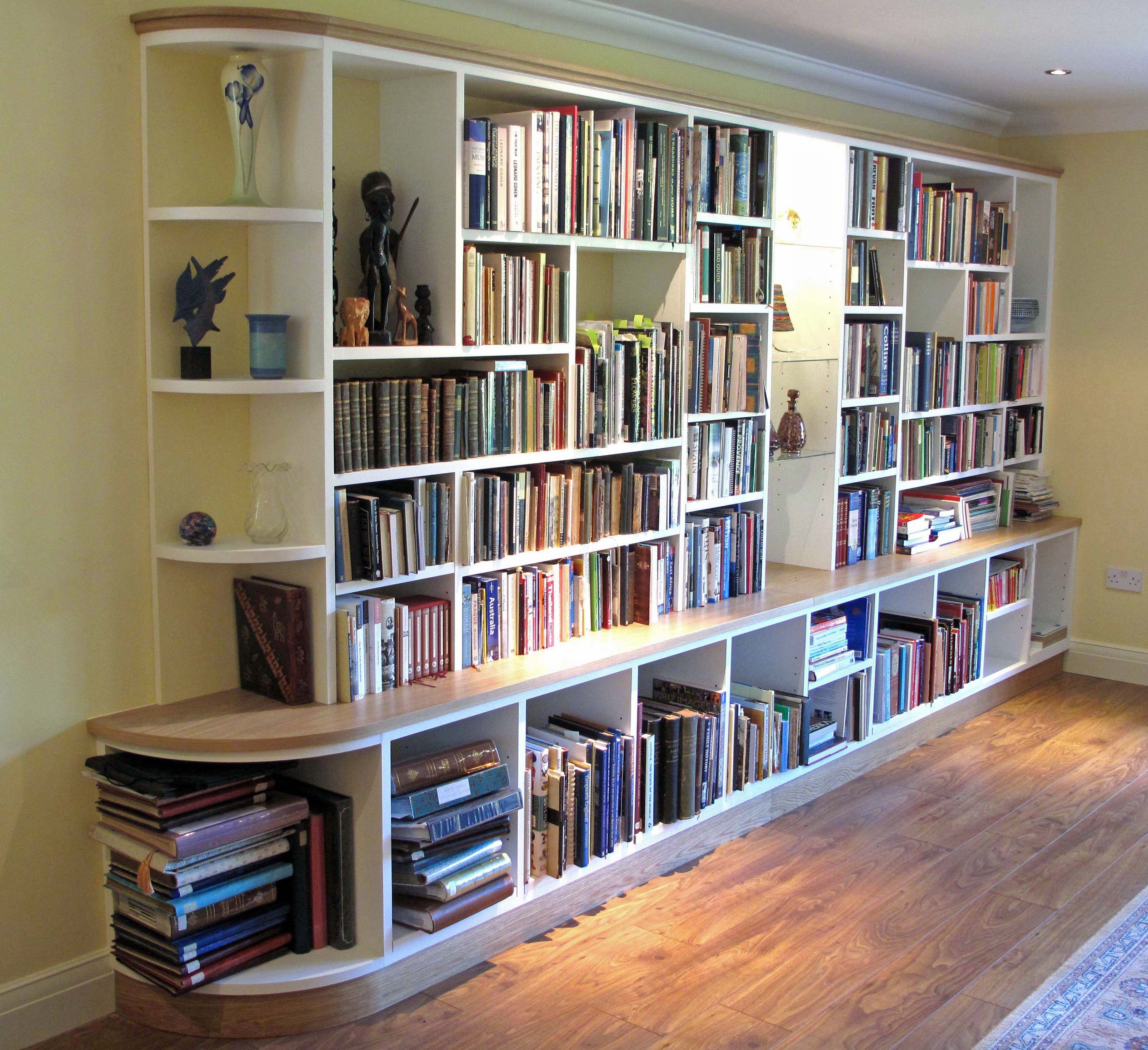 15 Ideas Of Fitted Bookcases