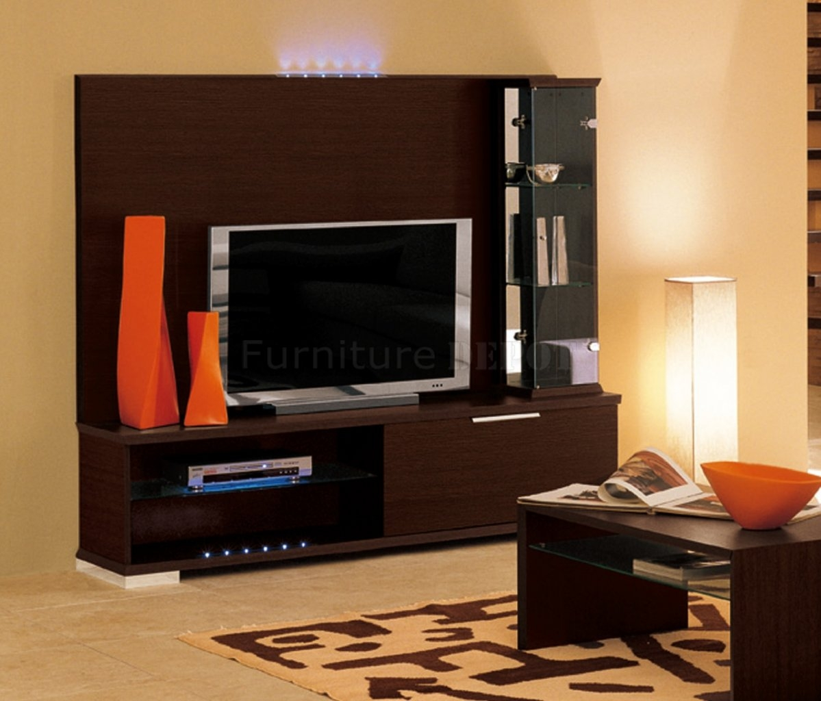 Contemporary Tv Wall Unit Designs 15 Best Collection Of Modern Tv Wall Units