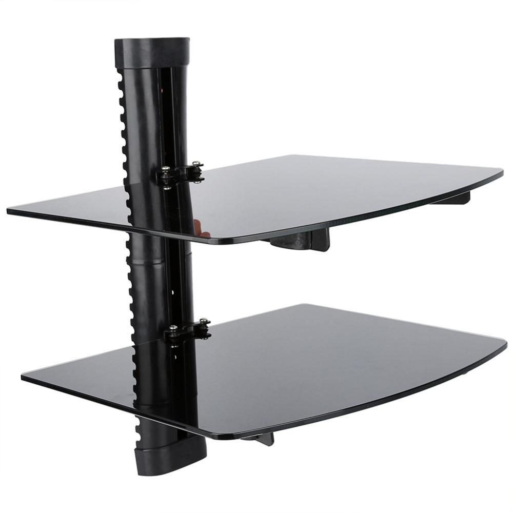 12 Best Ideas Of Floating Black Glass Shelf