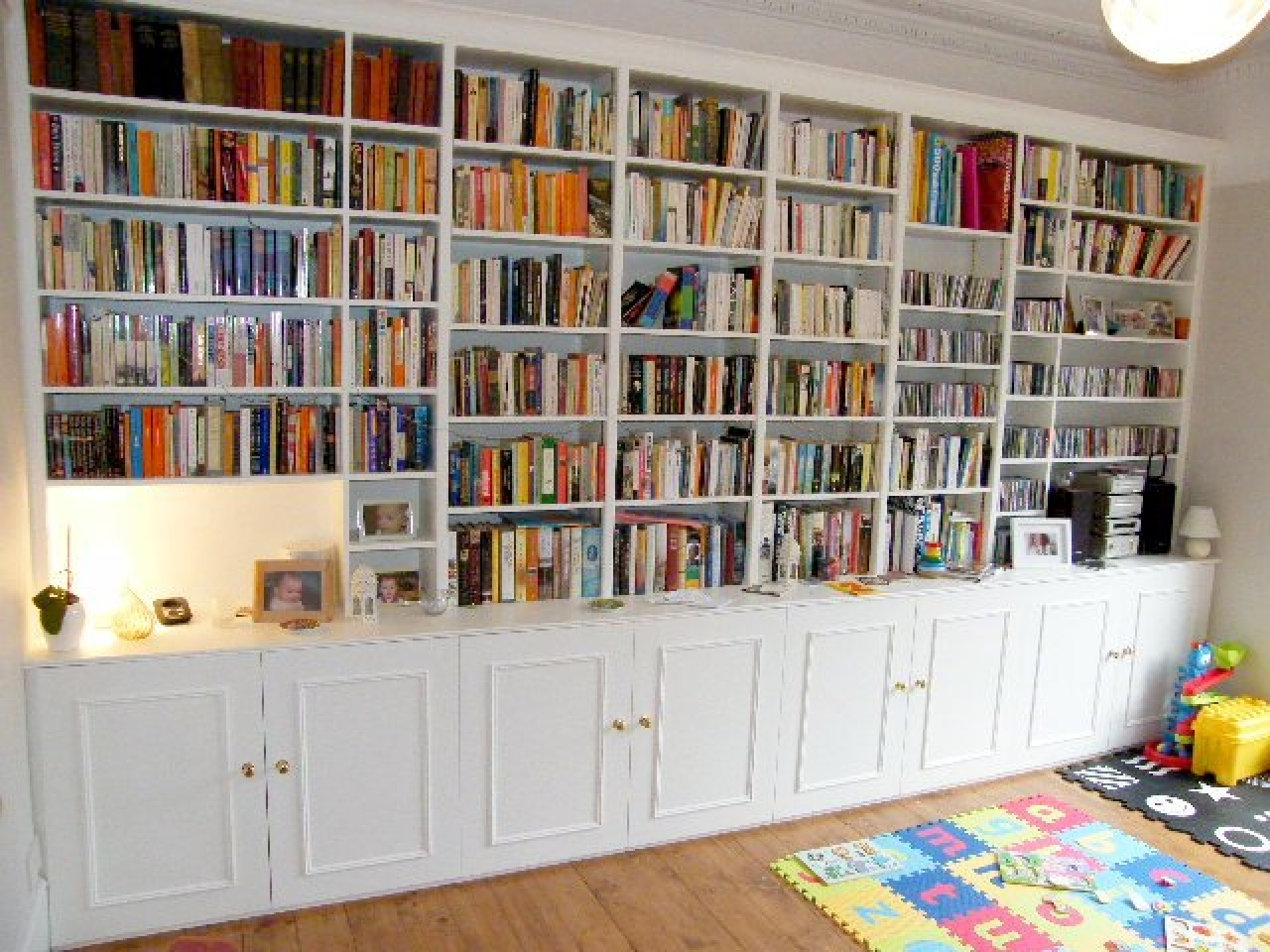 Bookshelves On Wall 15 Best Collection Of Wall To Wall Bookcase