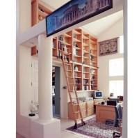 15 Collection of Wooden Library Ladders