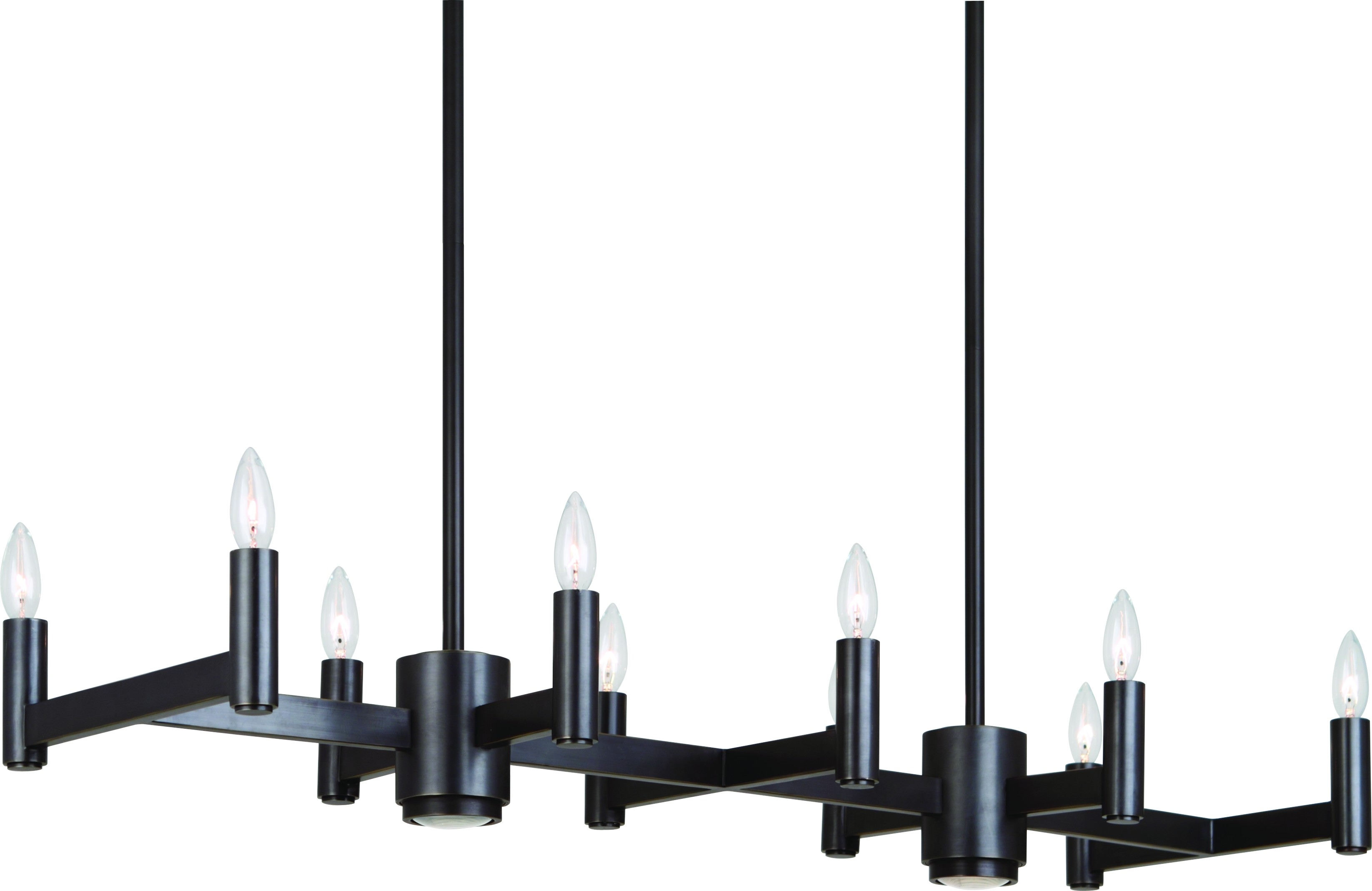 Wrought Iron Rectangular Chandelier 12 Best Ideas Of Black Contemporary Chandelier