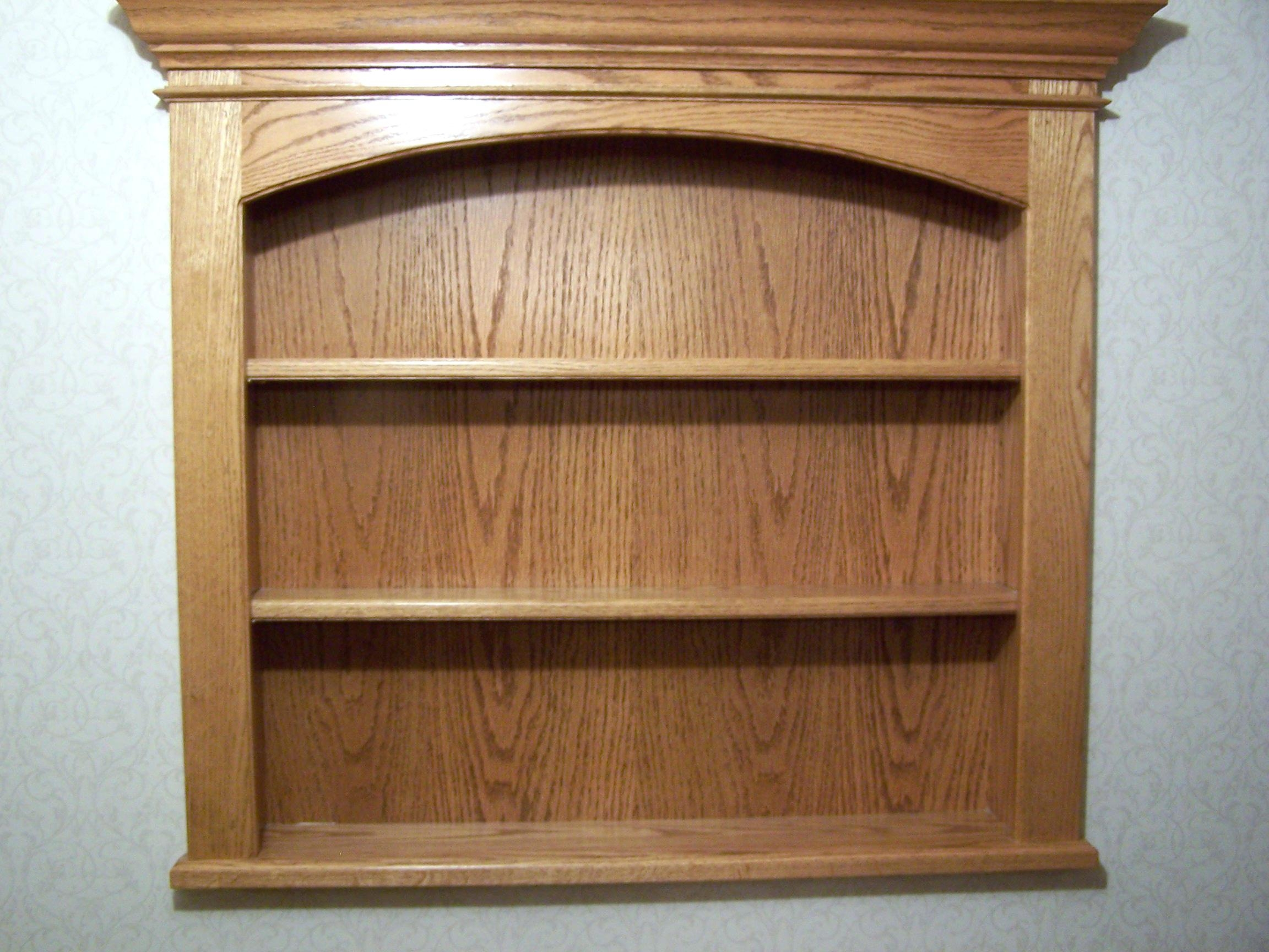 Pictures Of Wall Shelves 15 Collection Of Oak Wall Shelves